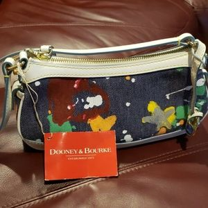 Dooney & Bourke denim shoulder bag